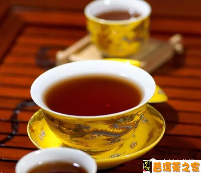 普洱茶图片 普洱茶遇对了,就是你的幸福